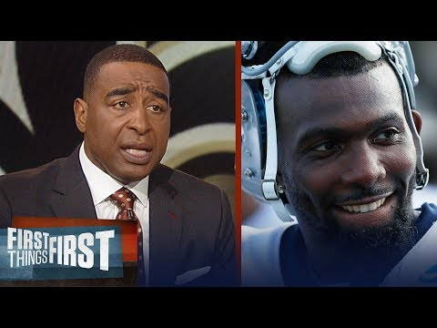 Cris Carter reacts to Dez Bryant signing with the Saints | NFL | FIRST THINGS FIRST