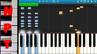 Calvin Harris & Disciples - How Deep Is Your Love Piano Tutorial - How to play - Synthesia