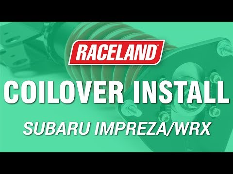 How To Install Raceland Subaru '02-07 Impreza WRX Coilovers