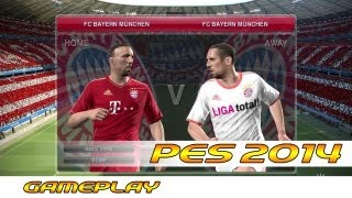 [TTB] [New & Official] PES 2014 Full Half Gameplay - Bayern Munich - Comparing to its Predecessor