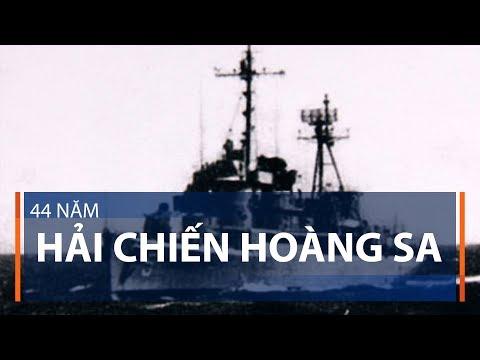 44 năm Hải chiến Hoàng Sa | VTC1 - Thời lượng: 98 giây.