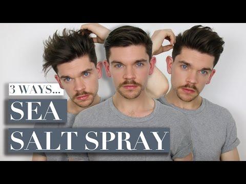 3 Ways To Use Sea Salt Spray | Men's Hair видео