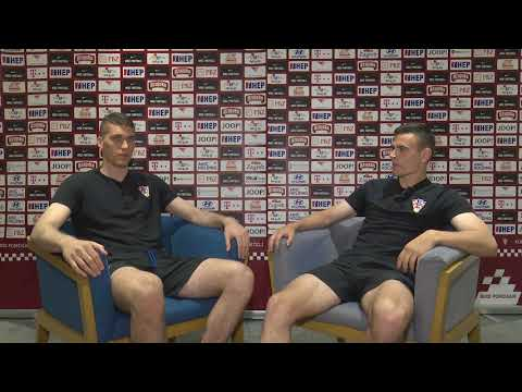 Hrvatska U-21 2U1: Ivo Grbić i Filip Uremović