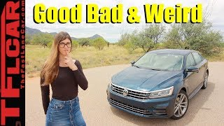 Review: What's Good, Bad and Weird about the 2018 VW Passat R-Line by The Fast Lane Car
