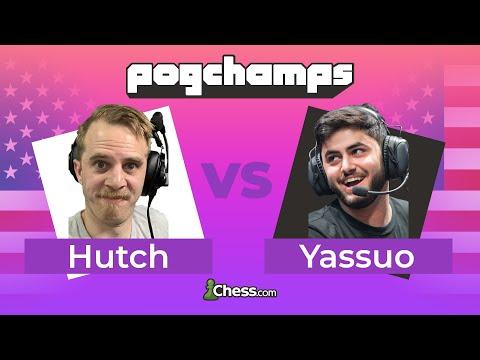 @Hutch Battles @Yassuo's Stonewall! | Chess.com PogChamps