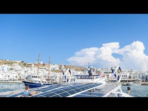 Μύκονος, Τήλος, Κρήτη, Φάληρο: οι ελληνικοί σταθμοί του Energy Observer…
