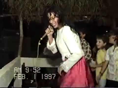 Taquaral de Goias 1997 Ana Paula cantando