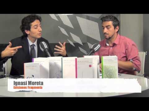 Ignasi Moreta parla de les novetats de Fragmenta (octubre 2013)