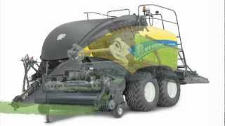New Holland BigBaler - BigBaler MaxiSweep™ pickup & Crop Flow