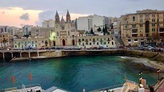 St. Julian's Malta  city photos gallery : St. Julian's, Malta. (Ianuarie 2016. HD)