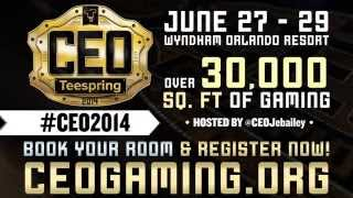 CEO 2014 trailer! One of the biggest PM tourneys yet! Be sure to tune in!