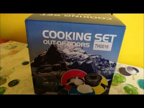 Terra Hiker Set di Pentole da Campeggio (9 Pezzi) Amazon recensione review