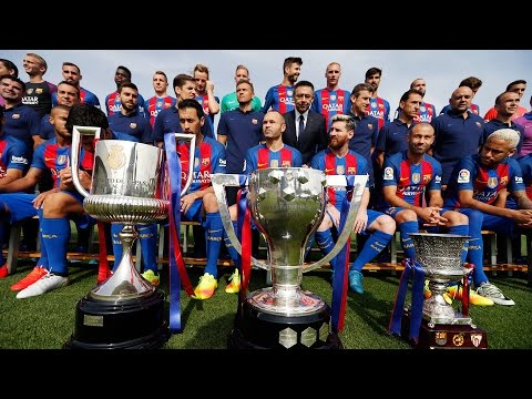 [BEHIND THE SCENES] FC Barcelona Official Photo (season 2016/17)