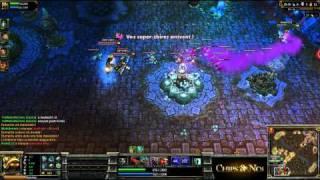 (HD080) Warkdemon PoV rammus -Part3- League Of Legends Replay [FR]