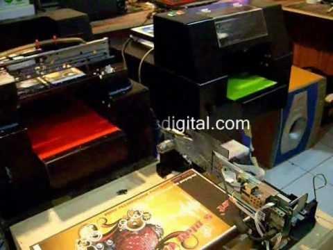 Cara Kerja Sablon Kaos Digital |Medan| DTG printer