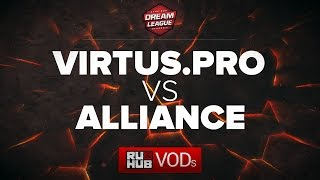 VP vs Alliance, DreamLeague Season 6, game 1