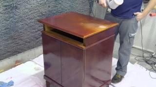 Реставрация мебели материалами Тиккурила