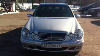 видео авто Mercedes-Benz E в кредит