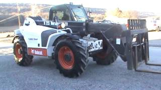 8. 2006 Bobcat V723 Versahandler Telescope Fork Lift Cab Heat Air For Sale