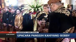 Video Prosesi Panggih Kahiyang-Bobby (Full) MP3, 3GP, MP4, WEBM, AVI, FLV September 2018