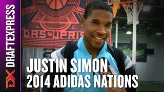 2014 Justin Simon Interview - DraftExpress - Adidas Nations
