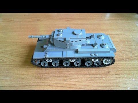 Lego Kv 1 Tank Instructions Hd On Youzeek
