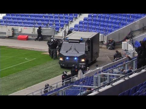 Λυών: Προσομοίωση επίθεσης τρομοκρατών σε γήπεδο