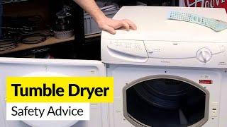 Tumble Dryer Fires...reduce the risk
