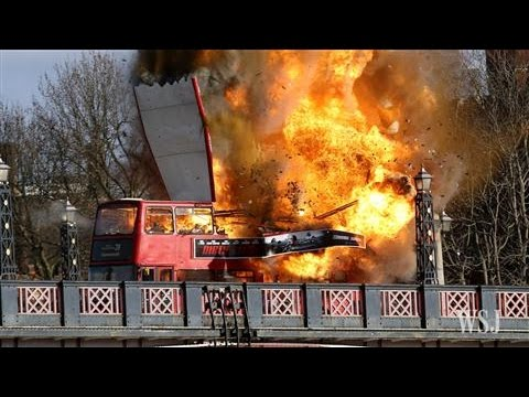 Confusion in London as Bus Explodes on Bridge
