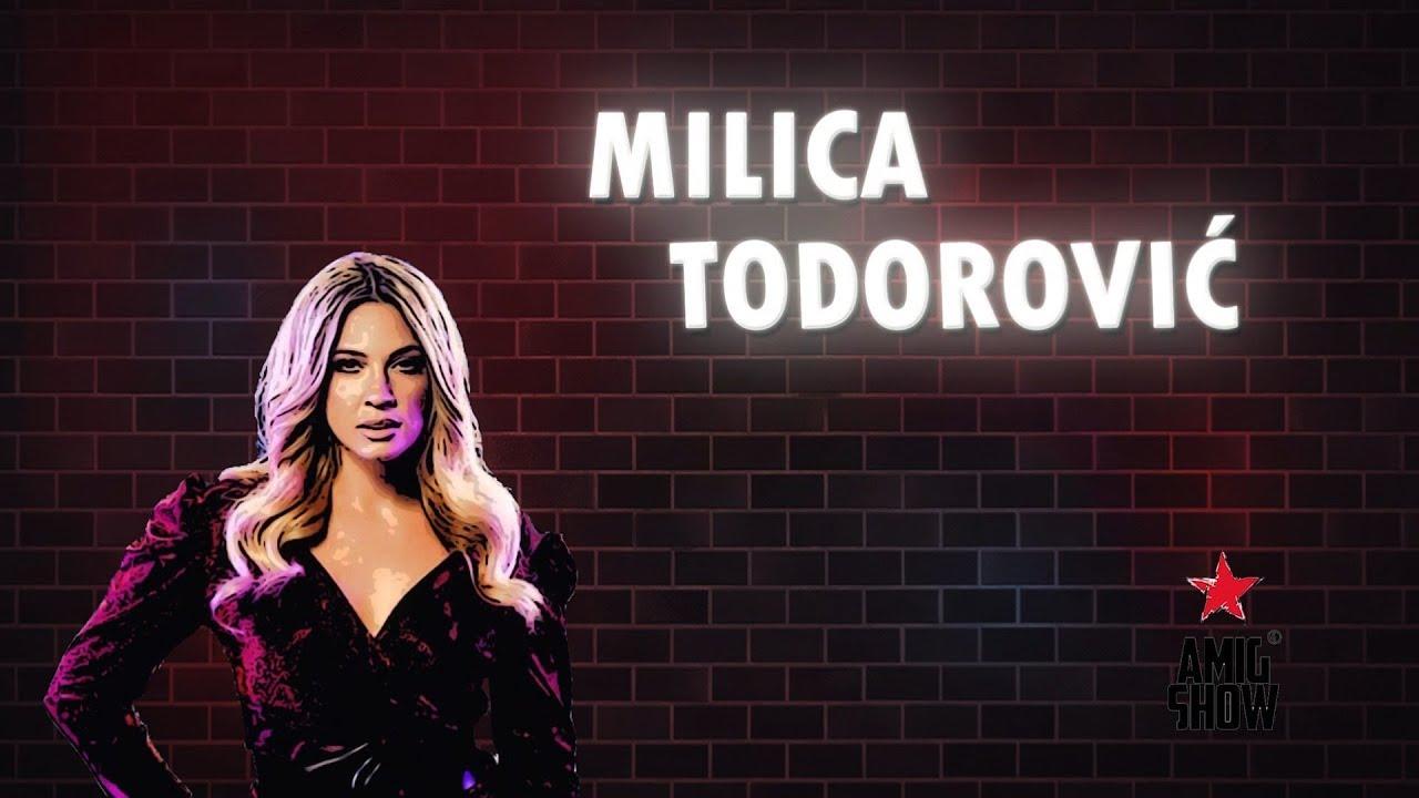Ami G Show – Gost: Milica Todorović (21. 01.) – video i poljupci sa Petrom Strugarom
