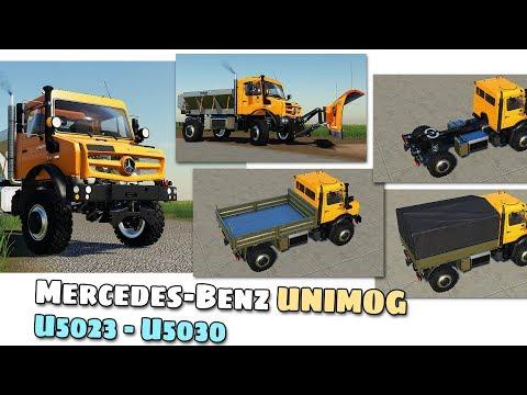 Mercedes-Benz Unimog U5023 v1.0.0.1
