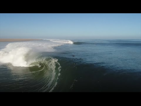 The Heaviest Skeleton Bay Barrel Ridden Yet | SURFER Magazine's Bite Size: Oliver Kurtz