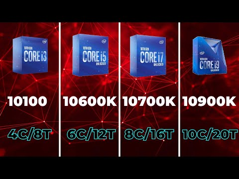 Все процессоры Intel Core 10-го поколения. Часть п…