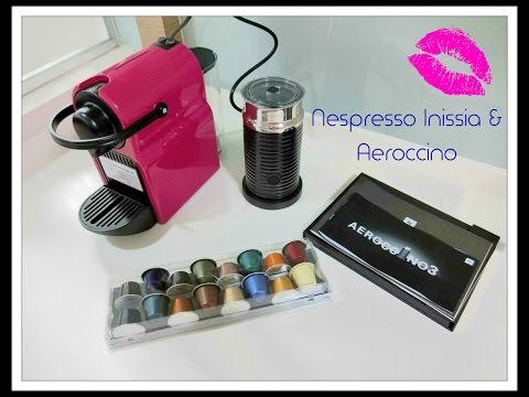 Let's make coffee with Nespresso Inissia and Aeroccino (Review)~!!!