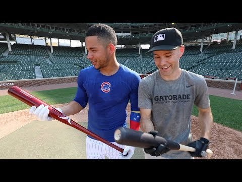 Playing baseball AT WRIGLEY FIELD with Willson Contreras!