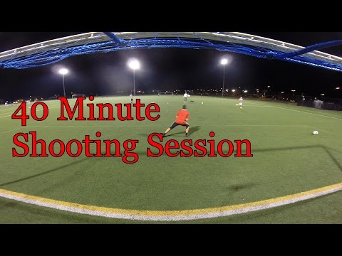 Goalkeeper Shooting Session