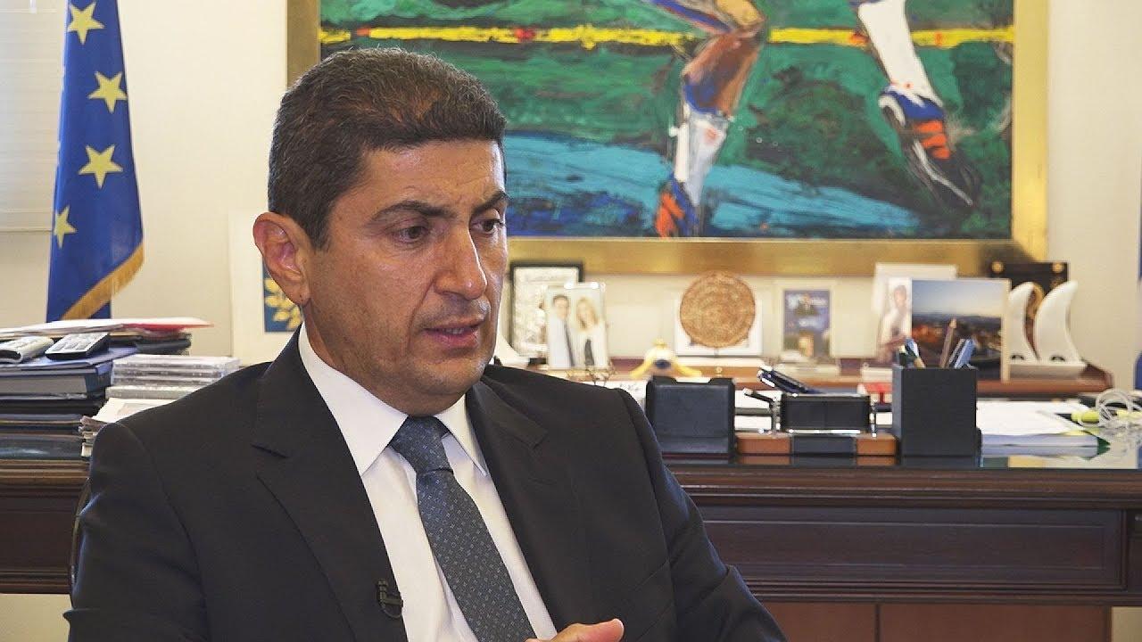 Λ. Αυγενάκης: «Πρώτος σταθμός αξιοποίησης είναι το ΟΑΚΑ»