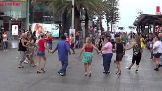 International Rueda Multi Flashmob Surfers Paradise Australia 2019