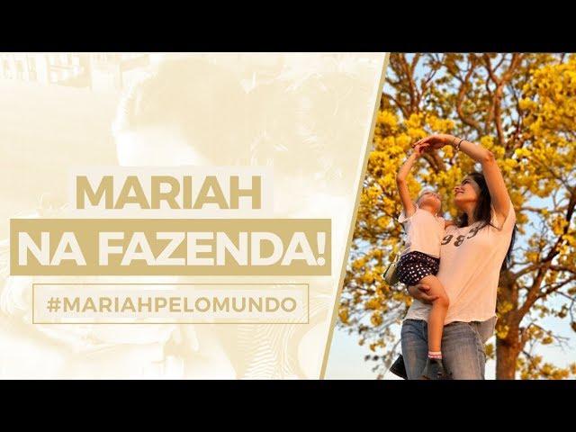 #MariahPeloMundo : Mariah na fazenda! - Mariah Bernardes