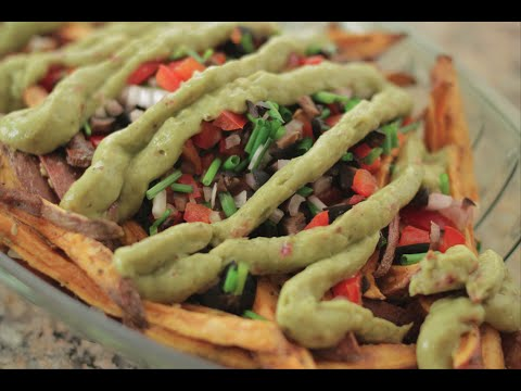 Diabetic Baked Sweet Potato Fries  (Oscars 2015) | Health Reset Meals