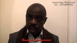 Benjamin Toungamani demande aux Congolais de continuer la lutte contre la dictature de Sassou-Nguess