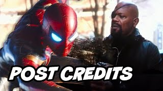 Video Avengers 4 Spider-Man Far From Home Post Credit Scene Theory MP3, 3GP, MP4, WEBM, AVI, FLV Agustus 2018