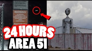 Video (MILITARY) 24 HOUR CHALLENGE IN AREA 51! SNEAKING INTO AREA 51, THE TOP SECRET MILITARY BASE! MP3, 3GP, MP4, WEBM, AVI, FLV Juni 2019