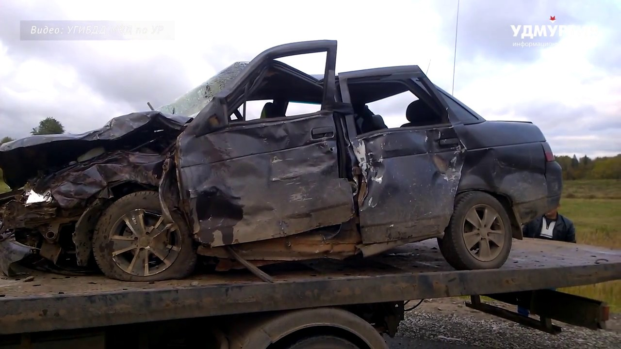 Один человек погиб при ДТП в Завьяловском районе Удмуртии