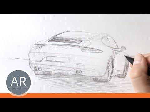 Zeichnen lernen –  Akadmie Ruhr, Tutorials – Transportationdesign, Autodesign
