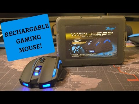 Zelotes F-15 Wired and Wireless Gaming Mouse Review