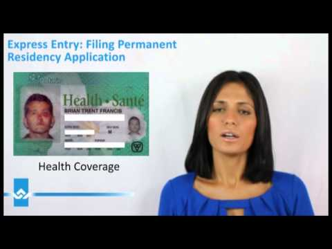 Express Entry Filing Permanent Resident Application Video