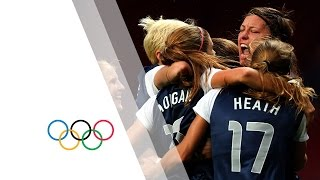 USA Win Womens Football Gold - London 2012 Olympics