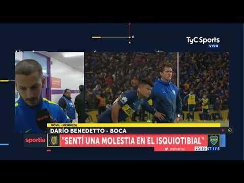 Benedetto explicó su lesión ante Central