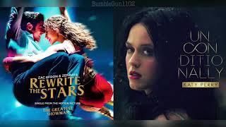 Video Zac Efron, Zendaya, Katy Perry - Rewrite The Stars (The Greatest Showman) x Unconditionally (MASHUP) MP3, 3GP, MP4, WEBM, AVI, FLV April 2018
